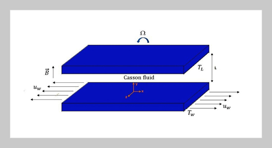 Cross diffusion effects on motion of three dimensional cassion fluid flow past between two horizontal plates in a porous medium