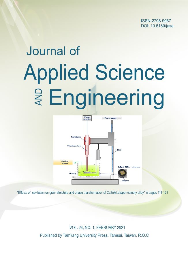 2021 - Volume 24 - Journal of Applied Science and Engineering
